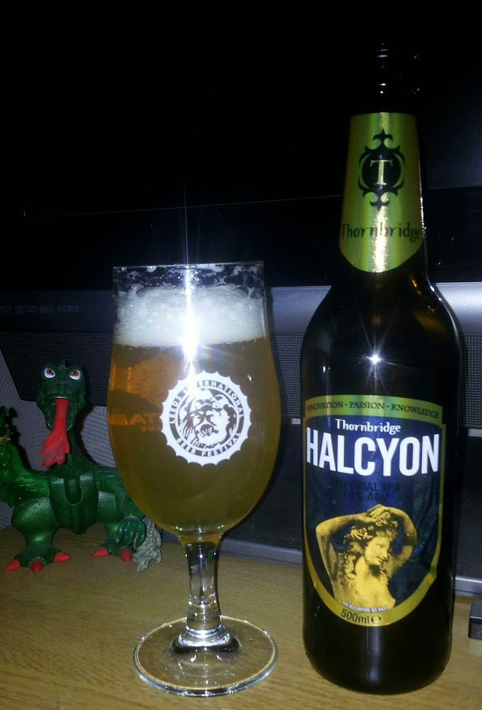 Bottle of Thornbridge Halcyon