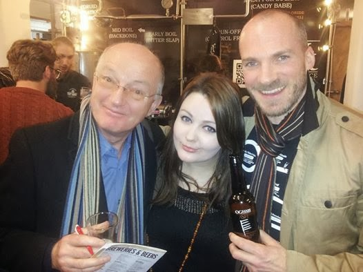 Oz Clarke, me, and Tom from Celt Experience