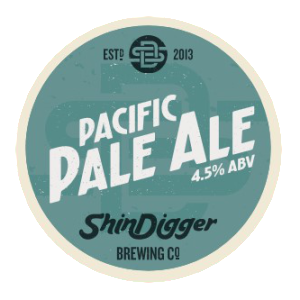 shindigger pacific pale ale pump clip