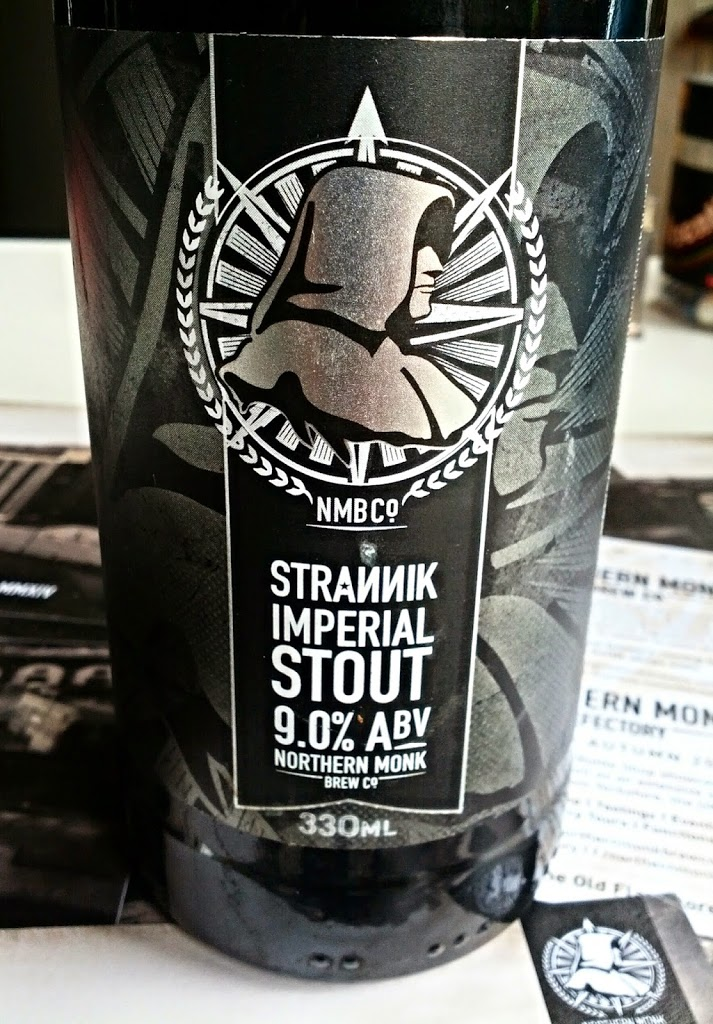 Northern Monk Brew Co Strannik Imperial Stout bottle